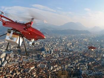 Alibaba маҳсулотни дронлар ёрдамида етказиб беради